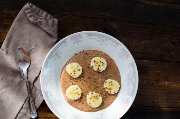 Chocolate Porridge 8